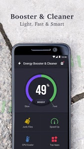 screenshot of Energy Booster and Cleaner version 2.8.2