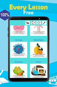 screenshot of English 5000 Words with Pictures version 8.0.5