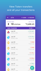 Download Enjin Crypto Wallet - Ethereum Bitcoin ERC20 LTC 1.3.1-r APK