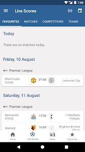 screenshot of FIFA - Tournaments, Soccer News & Live Scores version 4.3.72
