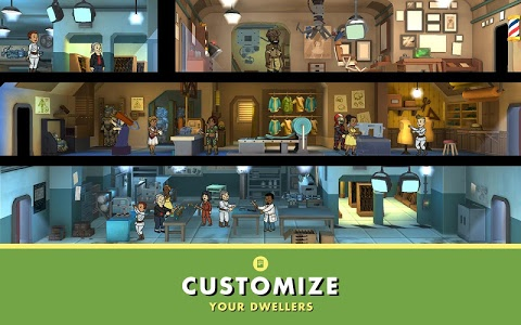 screenshot of Fallout Shelter version 1.11.1