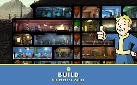 screenshot of Fallout Shelter version 1.10