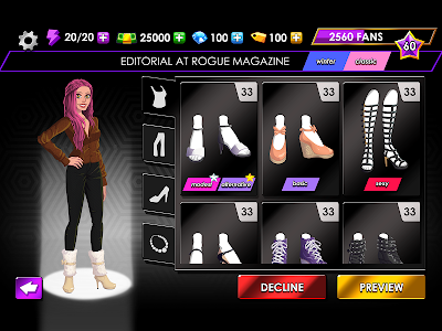 Download Fashion Fever - Dress Up, Styling and Supermodels 1.2.1 APK
