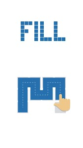 screenshot of Fill - one-line puzzle game version 4.3.1