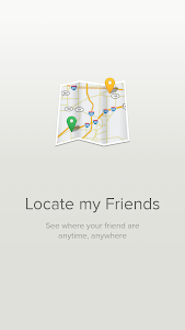 screenshot of Find My Friends version 12.4.0