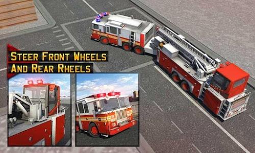 Download Fire Truck Driving School: 911 Emergency Response 1.3 APK