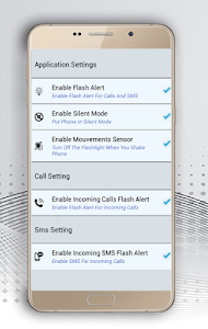 screenshot of Flash Alert : Call & Sms version 12.0
