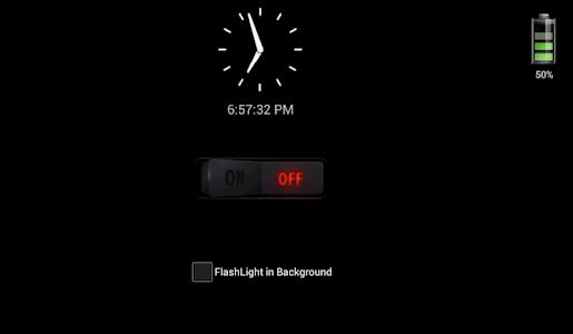 screenshot of FlashLight - LED Torch Light version 1.5