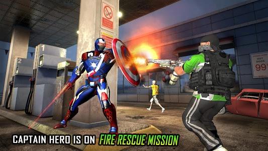 Download Flying Robot Captain Hero City Survival Mission 2.4 APK