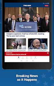 screenshot of Fox News – Breaking News, Live Video & News Alerts version Varies with device