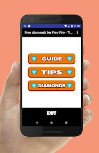 screenshot of Free Diamond for Garena Free Fire Tips version 1.0
