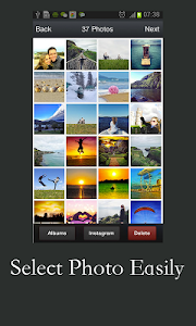 screenshot of Free Slideshow Maker version 3.9