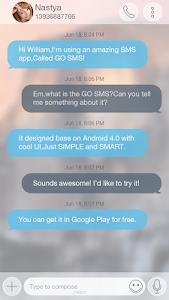 Download GO SMS PRO ICOLOR8 THEME 1.0 APK