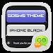 Download GO SMS Pro IPhoneBlack ThemeEX 1.0 APK