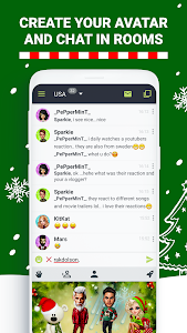 screenshot of Anonymous Chat Rooms - Galaxy version Varies with device