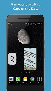 screenshot of Galaxy Tarot version Varies with device