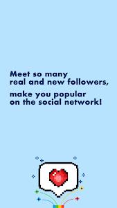 screenshot of Get Real Followers version 1.0.0