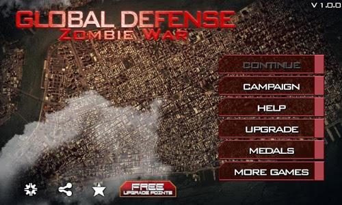 Download Global Defense: Zombie War 1.5.7 APK