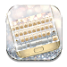 Download Gold And Silver Keyboard Theme 10001007 APK