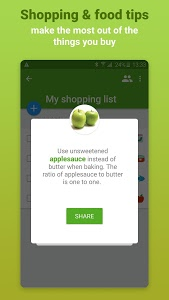 screenshot of Grocery Shopping List - Listonic version 6.13.2