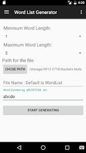 screenshot of Hackers Tools - Old version version 1.2.7