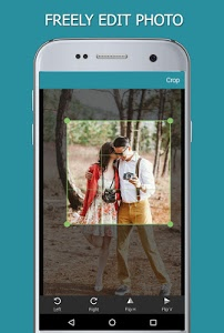 screenshot of Heart Photo Effect Video Maker version 1.2