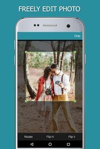 screenshot of Heart Photo Effect Video Maker version 1.0