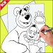 Download How To Draw Masha and The Bear 1.0 APK