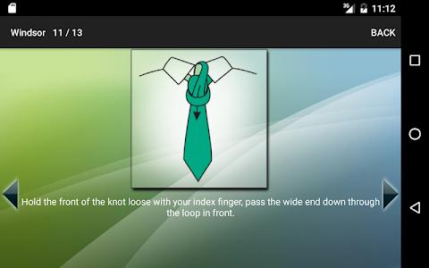 screenshot of How to Tie a Tie version 4.0.9