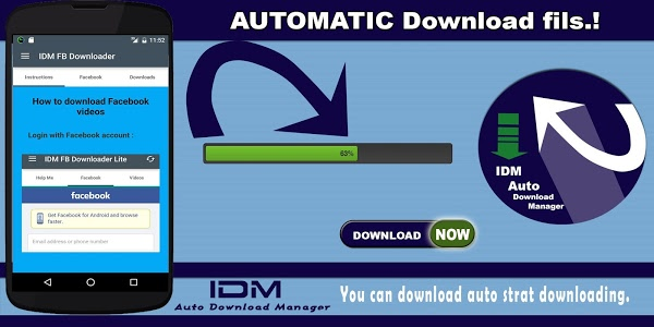 Download Idm Download Manager For Fb 6 34 Apk Downloadapk Net