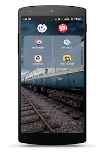 screenshot of IRCTC Rail Connect version 2.1.39