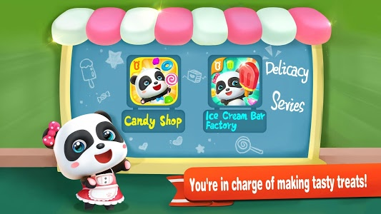 screenshot of Little Panda's Ice Cream Factory version 8.29.00.00
