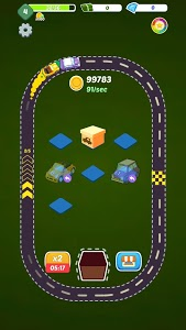 screenshot of Idle Merge Cars version 2.3