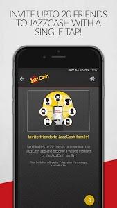 screenshot of JazzCash version 3.1.5