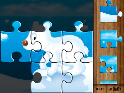 screenshot of Kids' Puzzles version Varies with device