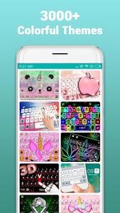 screenshot of Kika Keyboard - Emoji Keyboard, Emoticon, GIF version 5.5.8.3018