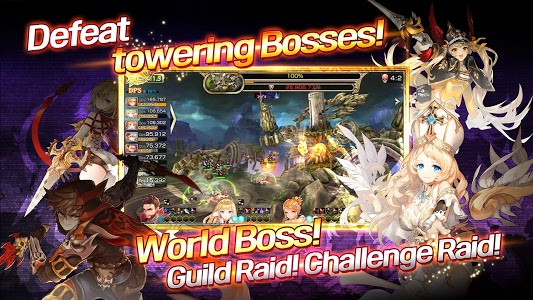 screenshot of King's Raid version 2.105.1