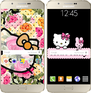 screenshot of Kitty cute Wallpapers HD version 2