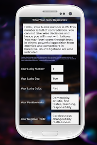 screenshot of Know Your Future version 14.2.4