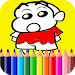 Download Learn Coloring for shin chan 1.3 APK