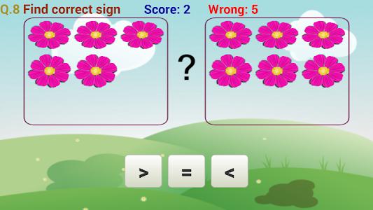 screenshot of Preschool kids : Number & Math version 3.0.1