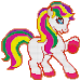Download Little Pony Color by Number - Pixel Art No.Color 1.1 APK