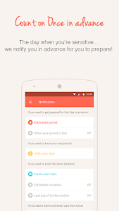 Download Once -A special period tracker 4.8.0 APK