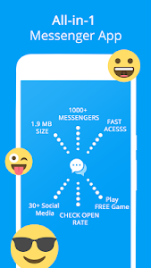 screenshot of Messenger version 1.01