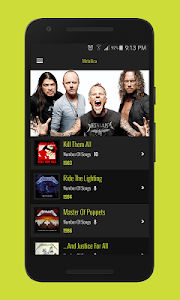 Download Metallica Music Library (Unofficial) 1.5 APK