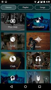 screenshot of Mp3 Player version 1.1.4