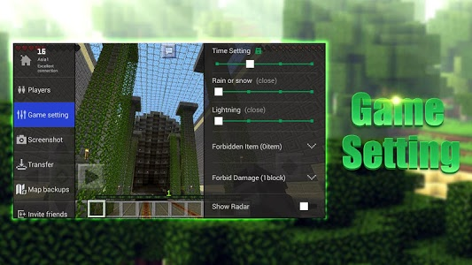 screenshot of Multiplayer Master for MCPE version 1.2.17