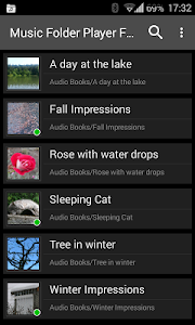 screenshot of Music Folder Player Free version Varies with device