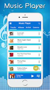 screenshot of Music Player - Audio Player version 1.1