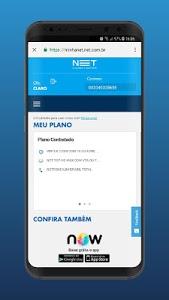 screenshot of Minha NET version 6.0.6